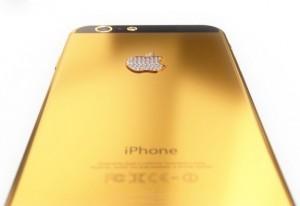 Айфон 6 золотой. Фото