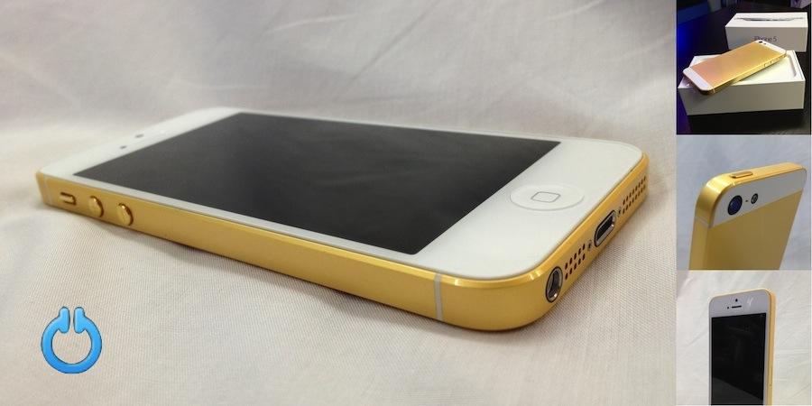Роскошный золотой Айфон 6