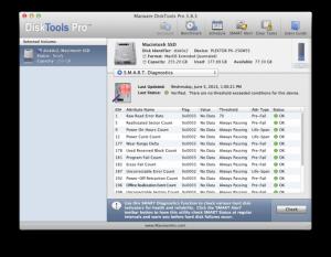 Mac OS проверка жесткого диска